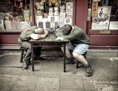 Mitarbeiter, Schlaf